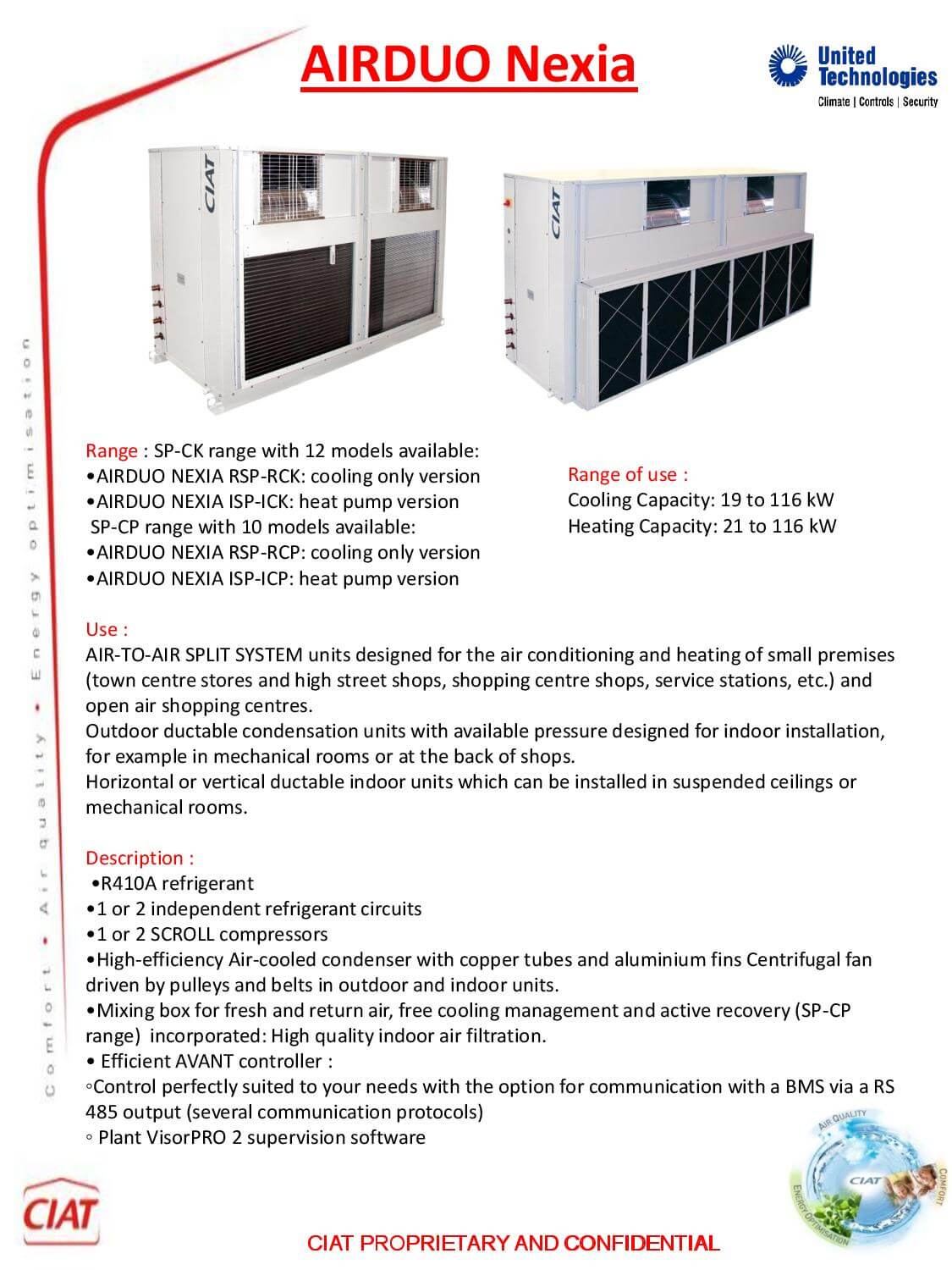 Airduo Nexia Ciat Air Conditioning And Heating
