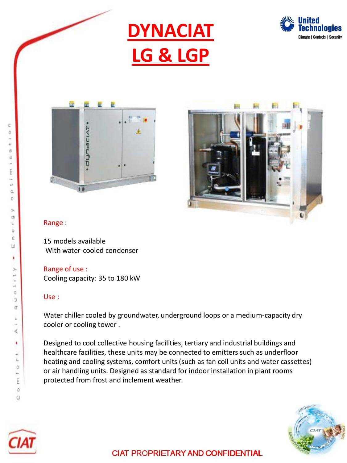Dynaciat Lg Amp Lpg Ciat Air Conditioning And Heating