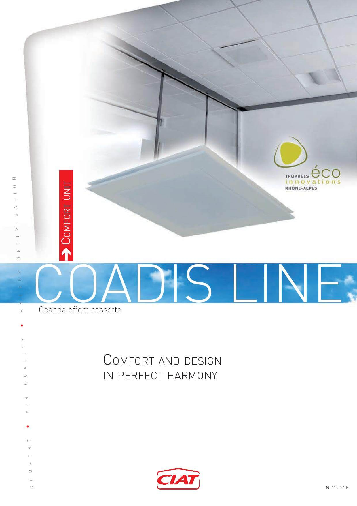 Coadis Line Brochure Ciat Air Conditioning And Heating