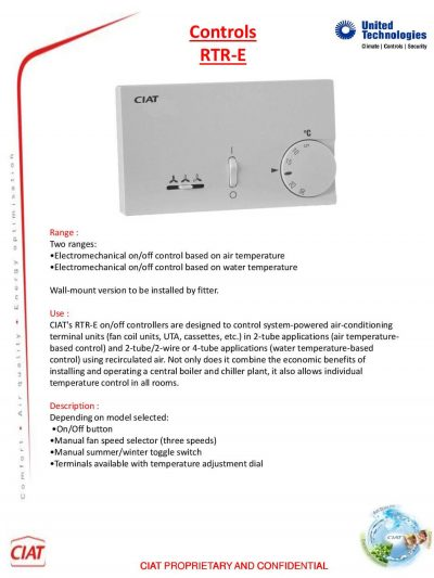 rtr e ciat air conditioning and heating rh ciat uk com